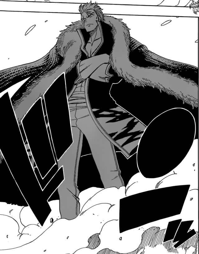 Fairy Tail chapter 447 - Laxus returns