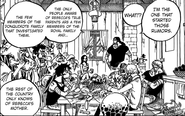 One Piece chapter 796 - Kyros's decision