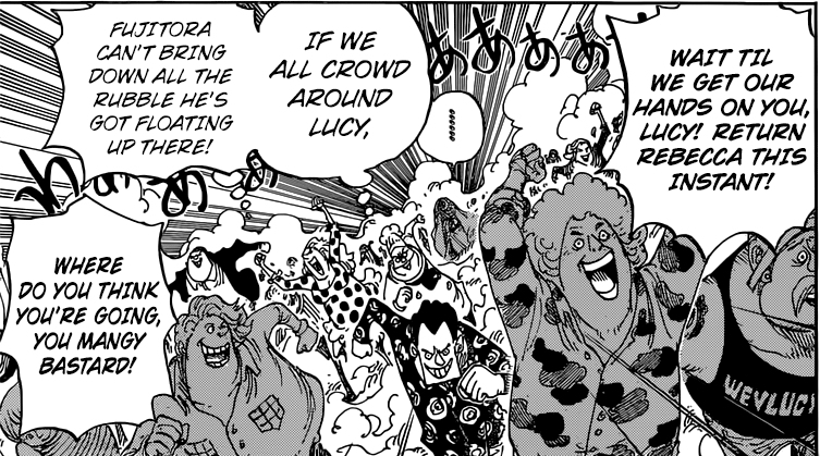 One Piece chapter 799 - The Citizen's of Dressrosa