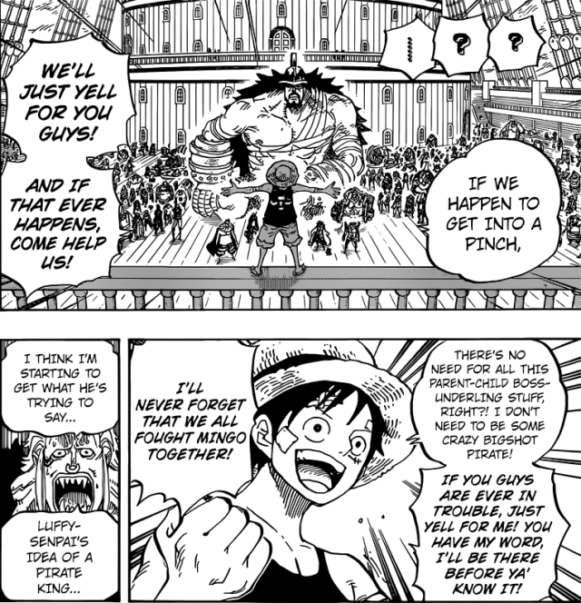 One Piece Chapter 800 - Luffy's idea of an alliance