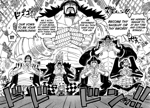 One Piece Chapter 800 - the formation of the Straw Hat Grand Fleet