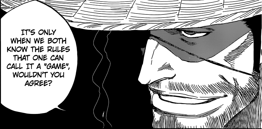 Bleach chapter 645 - Kyouraku's game