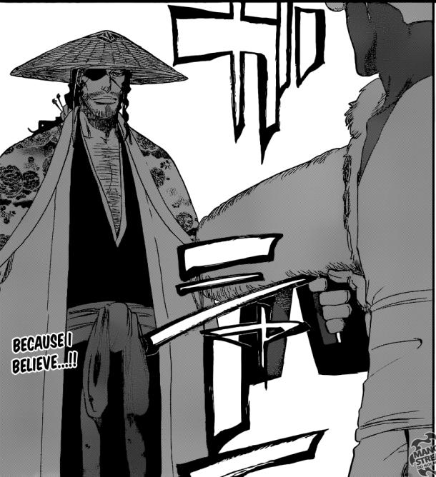Bleach chapter 646 - Shinsui vs Lille