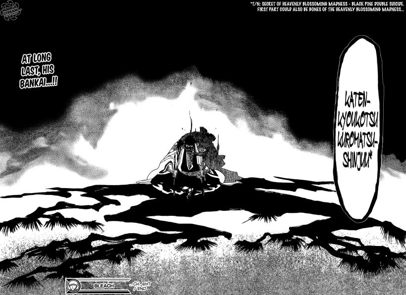 Bleach chapter 647 - Kyouraku's Bankai