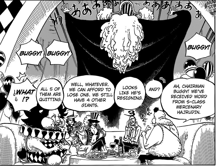 One Piece chapter 803 - Star Clown Buggy