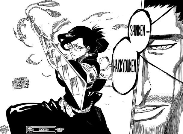 Bleach chapter 651 - Shinken Hakkyouken