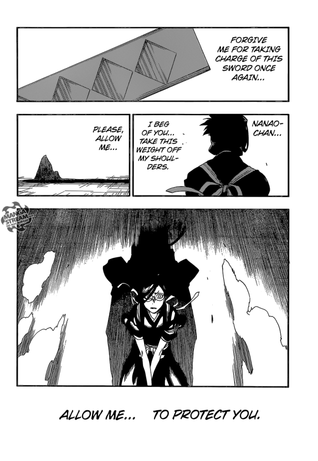 Bleach chapter 652 - Support
