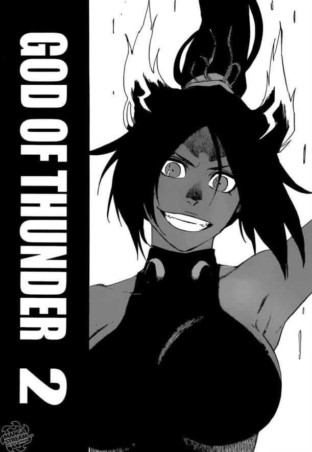 Bleach chapter 657 - Yoruichi vs Askin