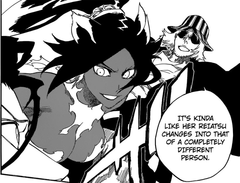 Bleach chapter 663 - Yoruichi & Kisuke VS Askin