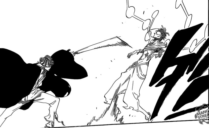 Bleach chapter 664 - Kisuke vs Askin