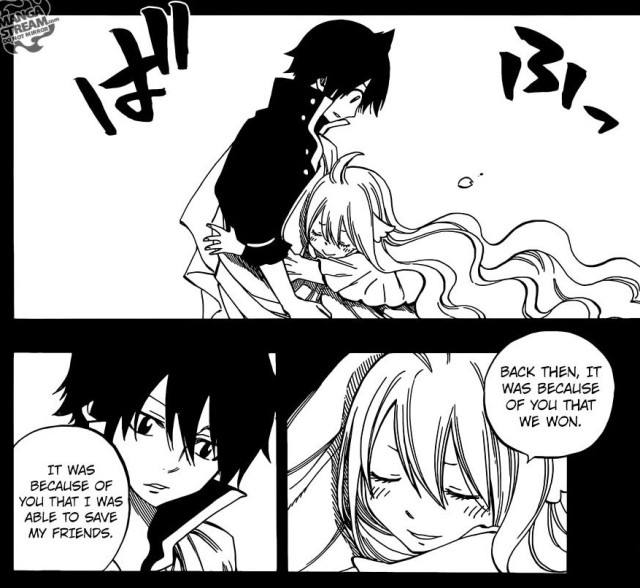 Fairy Tail chapter 449 - Mavis and Zeref
