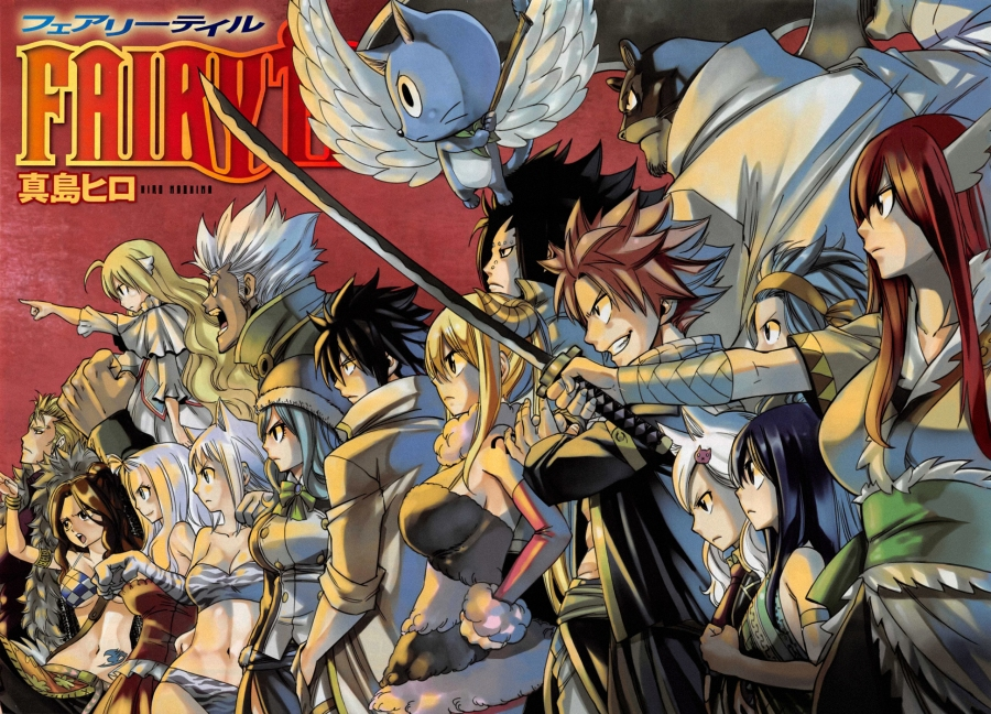 Fairy Tail chapter 459 - The Might of Fairy Tail