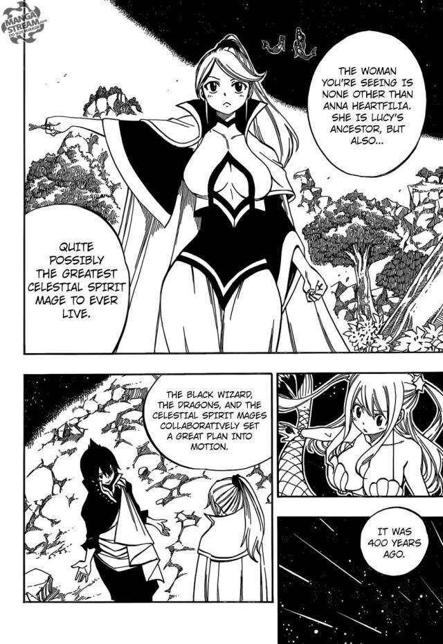 Fairy Tail chapter 468 - Anna Heartfilia