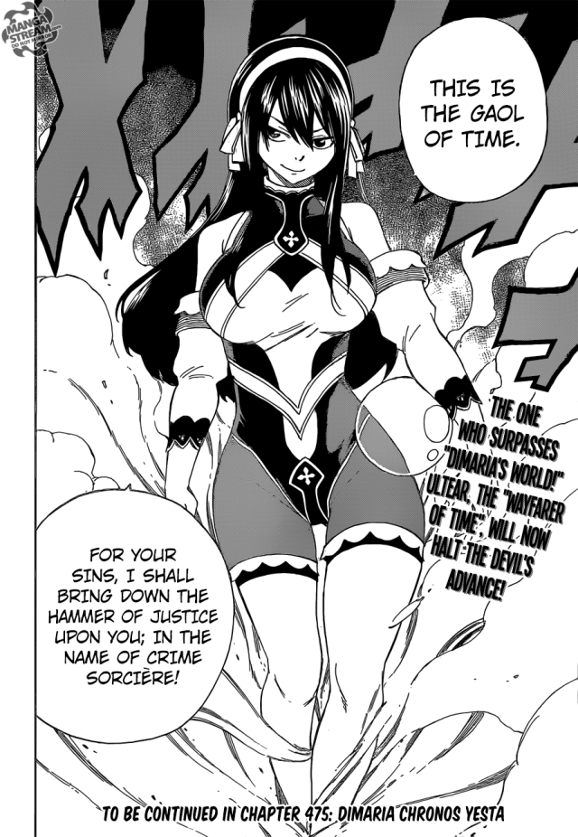 Fairy Tail chapter 474 - Ultear 2