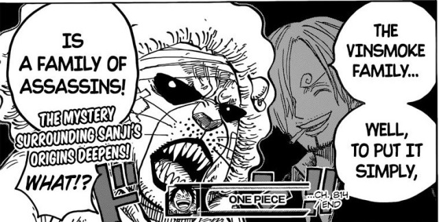 One Piece Chapter 814 - The Vinsmoke family