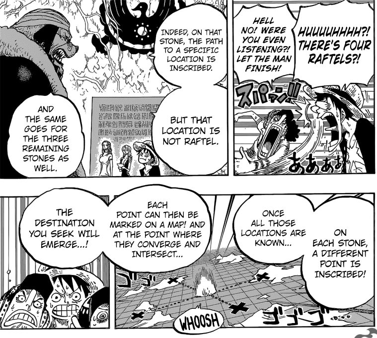 One Piece Chapter 818 – The Red Poneglyph