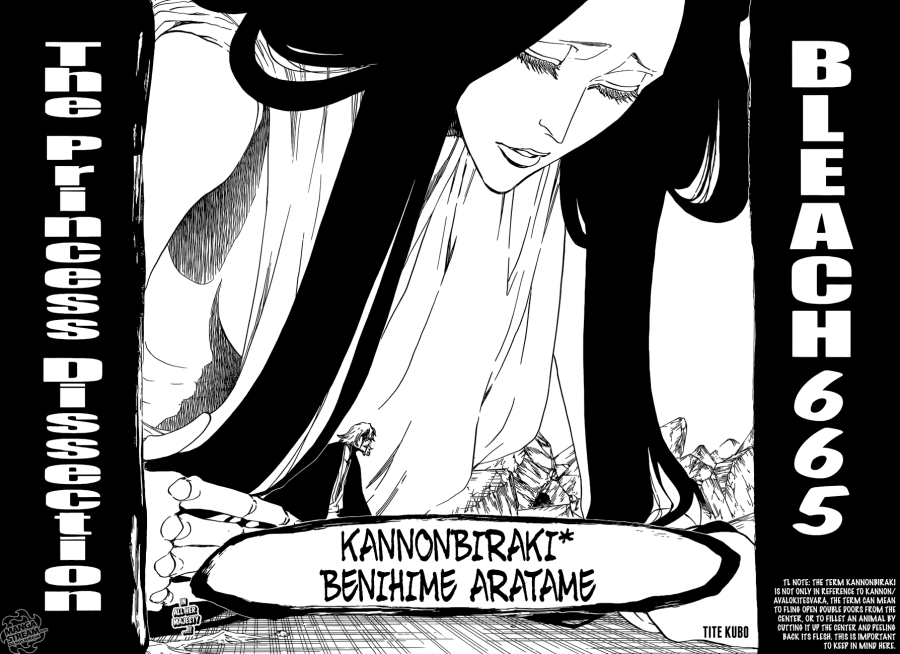 Bleach chapter 665 - Benihime Bankai Release