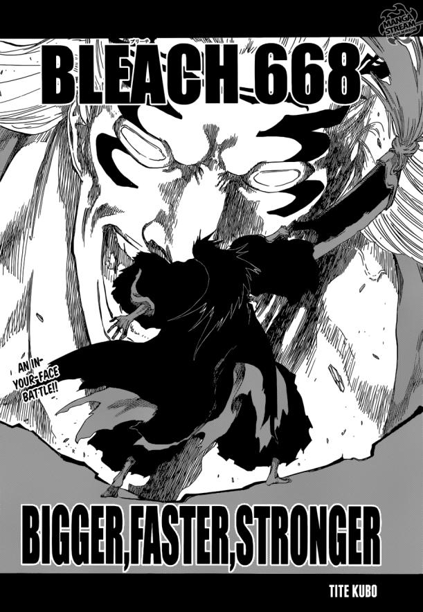 Bleach chapter 668 - Kenpachi VS Gerard