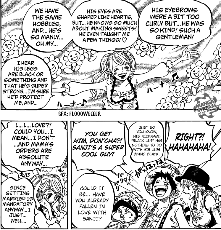 One Piece chapter 828 - Pudding