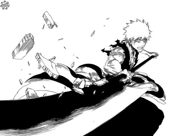 Bleach Chapter 684 - Ichigo's Zangetsu