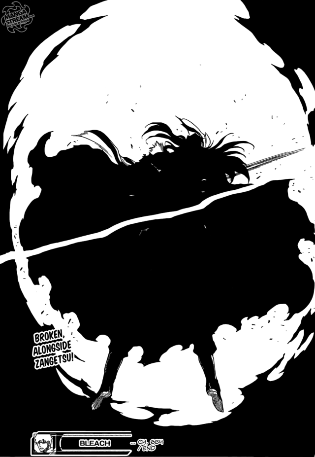 Bleach Chapter 684 - Ichigo cleaves down Yhwach