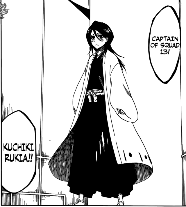 Bleach chapter 685 - The new Division 13 Captain