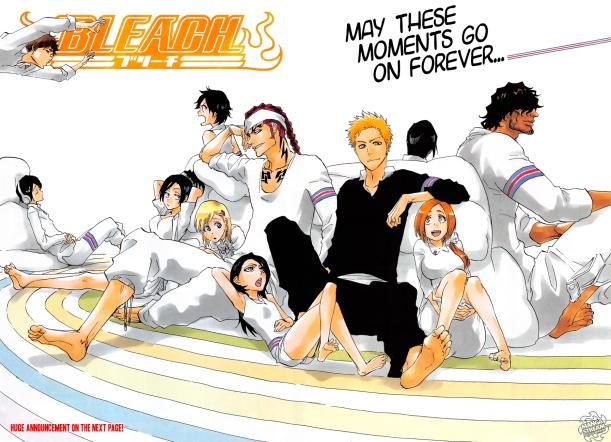 Bleach chapter 686 - colour spread