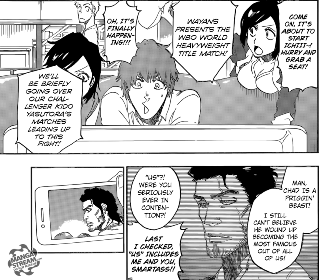 Bleach chapter 686 - gathering at Ichigo's house