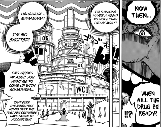 One Piece chapter 834 - Caesar