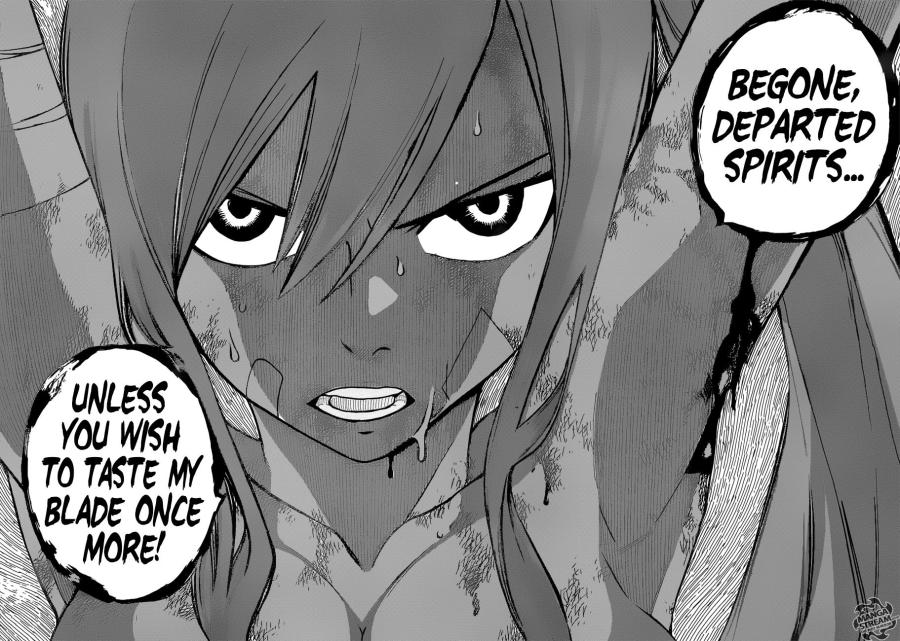 Fairy Tail Chapter 482 - Erza's Willpower