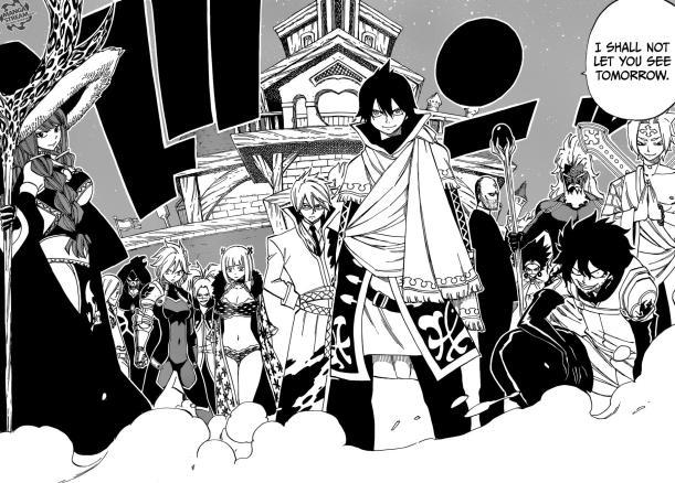 Fairy Tail Chapter 494 - The Spriggan Twelve