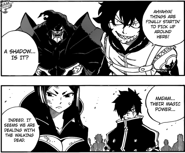 Fairy Tail Chapter 496 - 'Minerva and Rogue