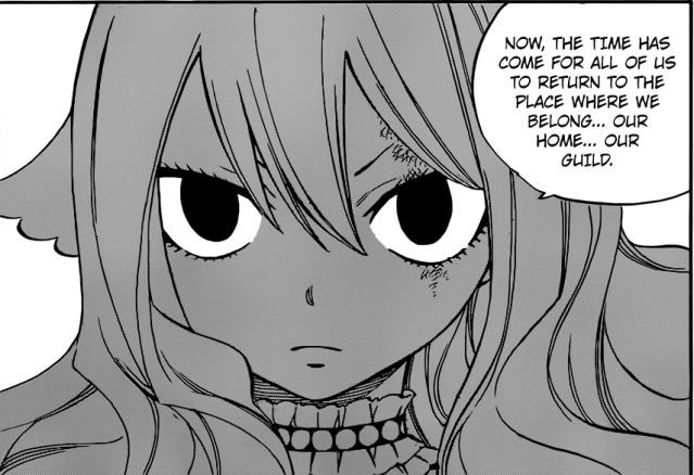 Fairy Tail Chapter 502 - Mavis