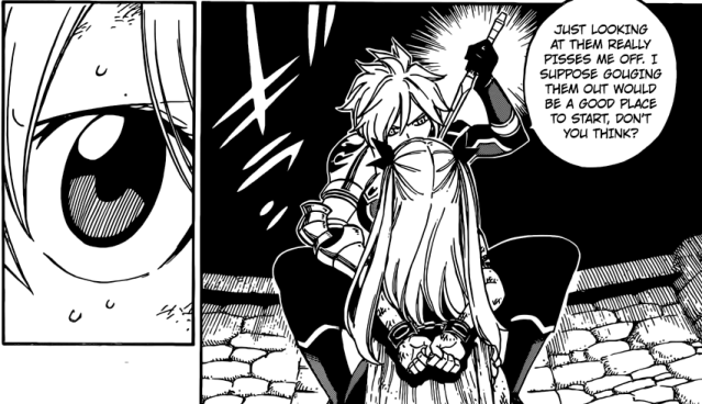 Fairy Tail Chapter 503 - Dimaria and Lucy