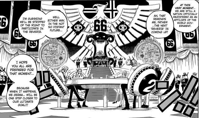 One Piece Chapter 839 - The Vinsmoke Family
