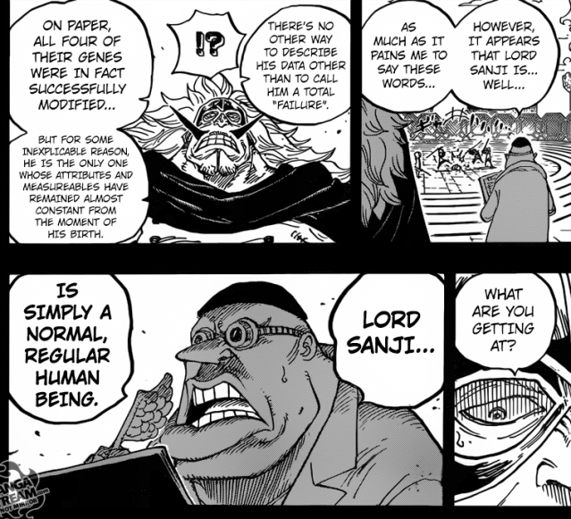 One Piece Chapter 840 - Sanji's Capability