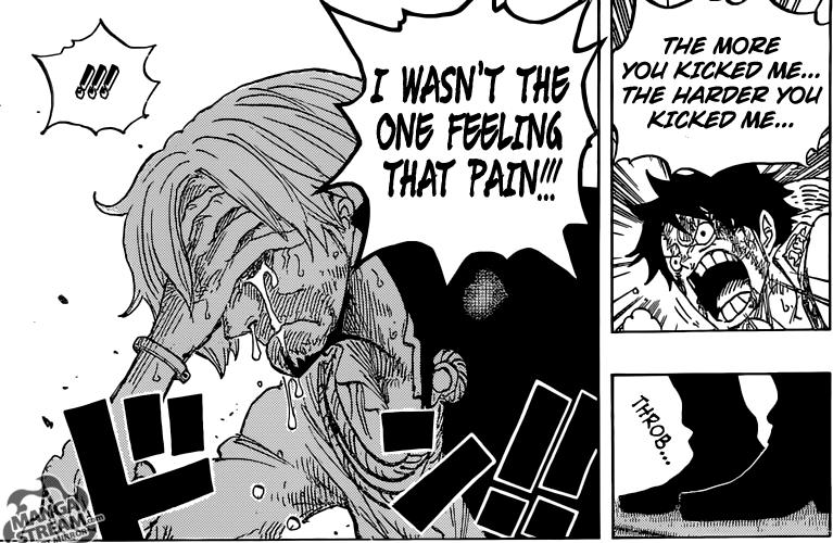 One Piece chapter 844 - Luffy and Sanji 1