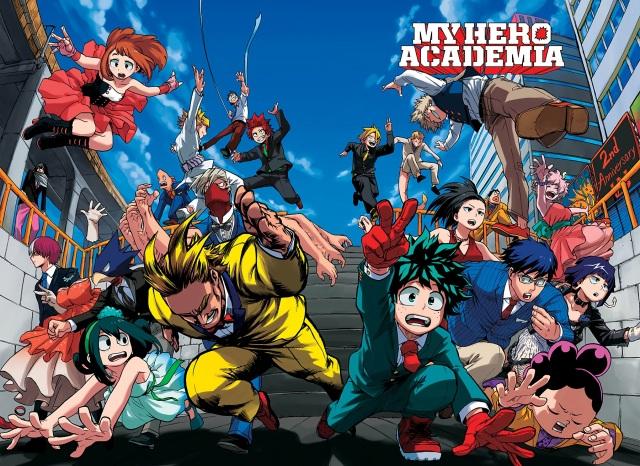 Boku no Hero Academia chapter 106 - colour spread