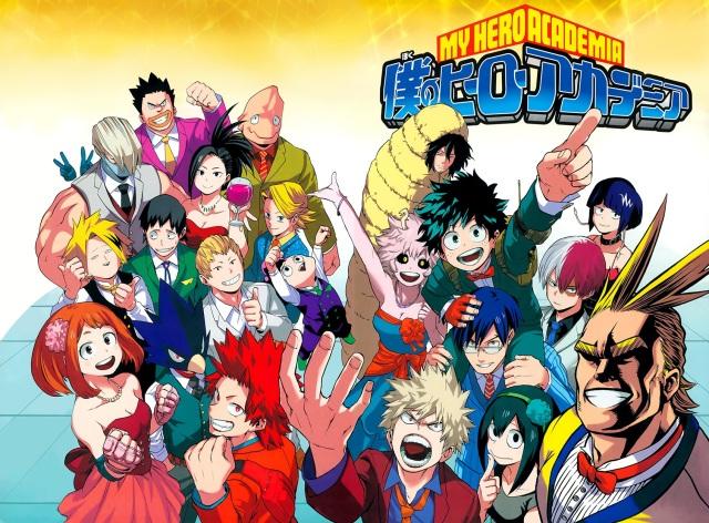 Boku no Hero Academia chapter 52 - colour spread