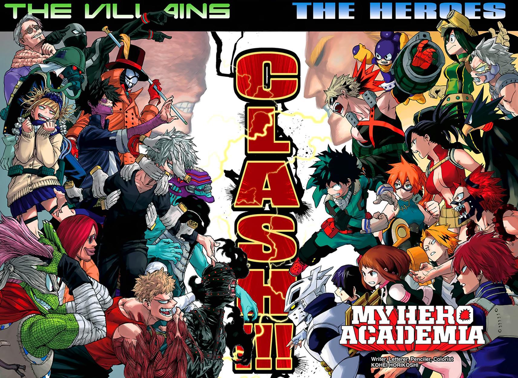 Boku no Hero Academia chapter 76 - colour spread