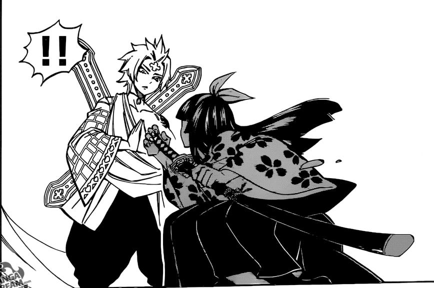 Fairy Tail chapter 509 - Kagura