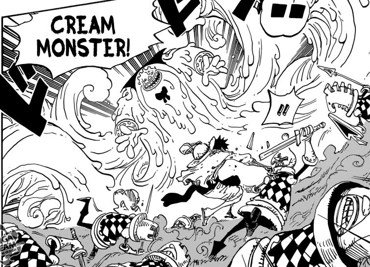 One Piece Chapter 846 - Luffy VS Big Mom Pirates