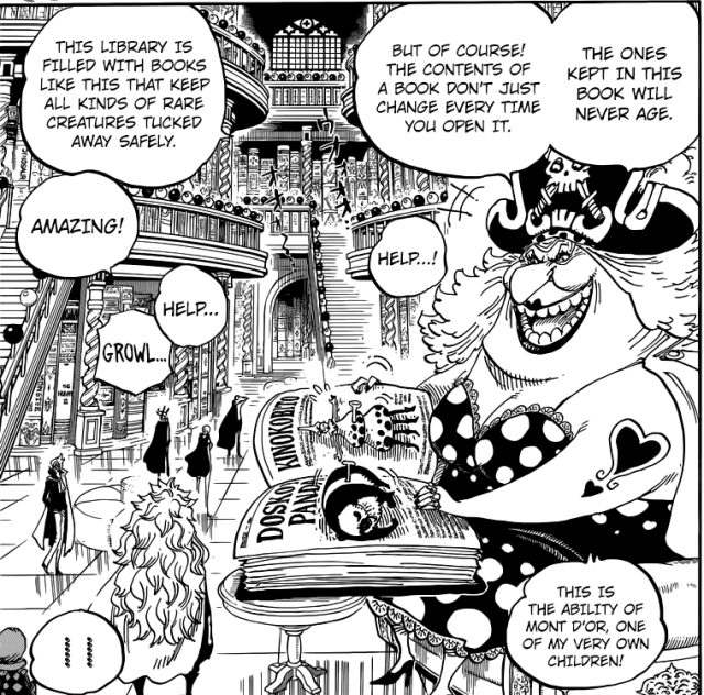 One Piece Chapter 847 - Big Mom's Library