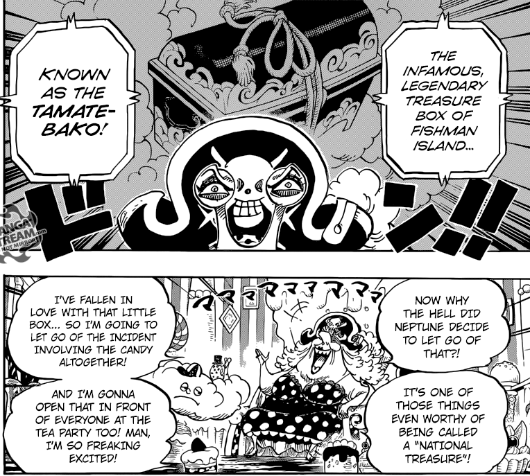 One Piece Chapter 847 - The Tamatebako