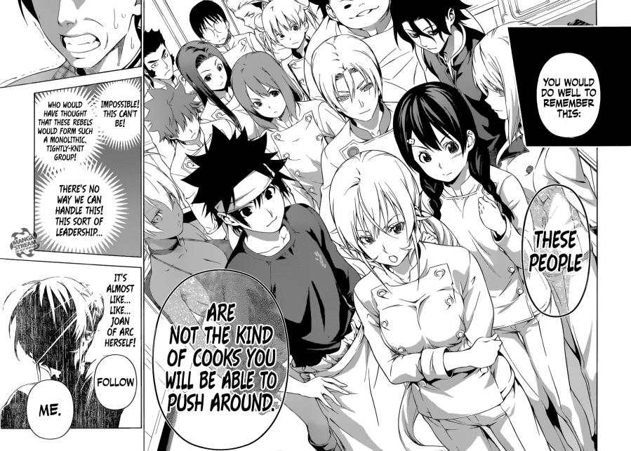 Shokugeki no Soma chapter 177 - The rebellion