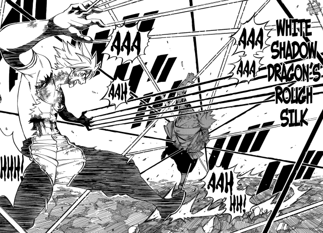 Fairy Tail Chapter 512 - Sting defeats Larcade