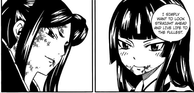 Fairy Tail chapter 513 - Minerva and Kagura