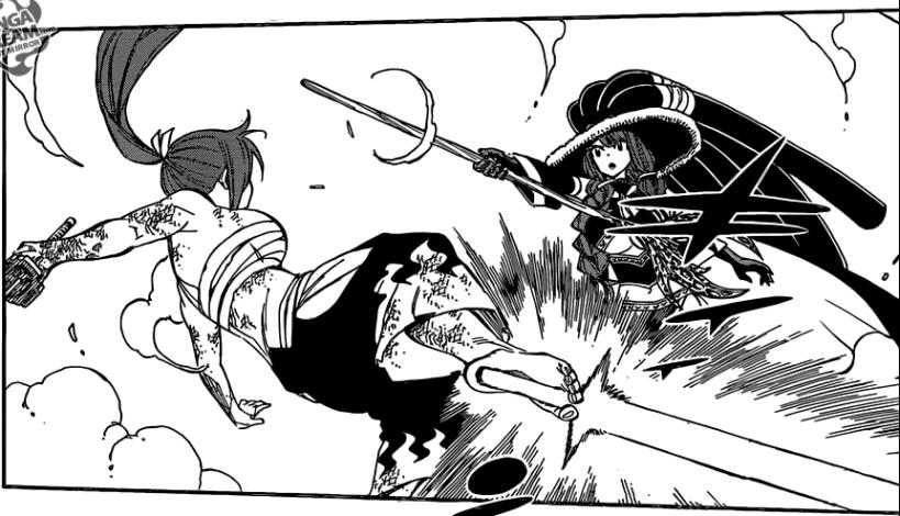 Fairy Tail chapter 513 - Erza VS Irene