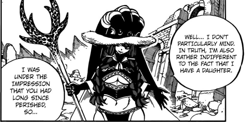 Fairy Tail chapter 513 - Irene reveals the truth