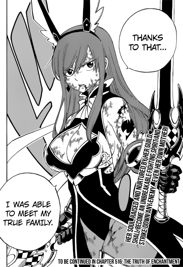 Fairy Tail chapter 515 - Erza